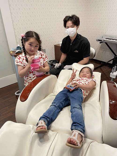 お子さんを歯科に慣らすことが一番重要です